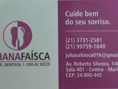Dra. Juliana Faísca Cirurgiã Dentista