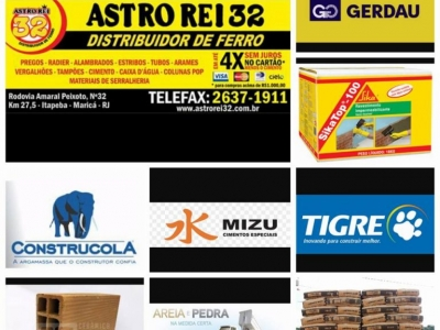 Astro Rei 32 Distribuidor de ferro