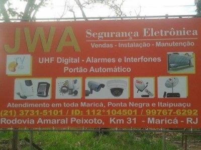 JWA Segurança Eletrônica