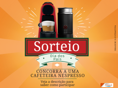 Promoção   Concorra a uma cafeteira Nespresso