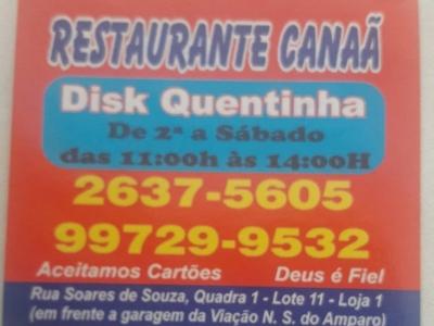 Restaurante Canaã